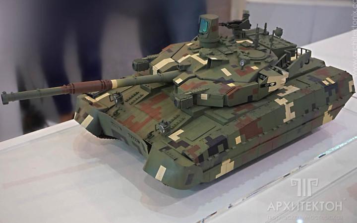 Виготовлення моделі танка, 3Д друк