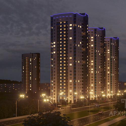 Створення нічних і вечірніх архітектурних візуалізацій
