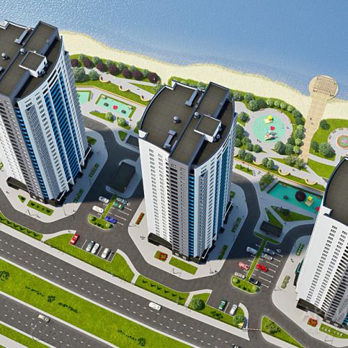 Візуалізація житлового комплексу