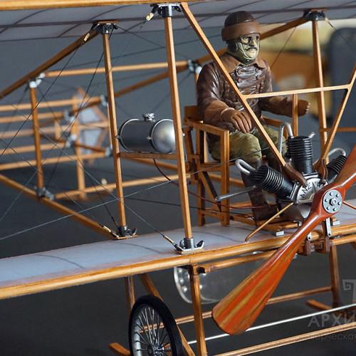 Подарункова масштабна модель історичного літака БІС-2 на замовлення