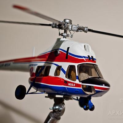 Изготовление модели вертолета