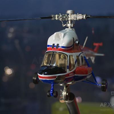 Масштабная модель вертолета МСБ-2
