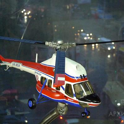Модель вертолета МСБ-2 (ремоторизированный МИ-2)