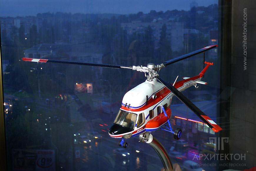 Заказать модель вертолета МСБ-2 для выставки