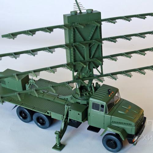 Модель РЛС МР-18 для презентації