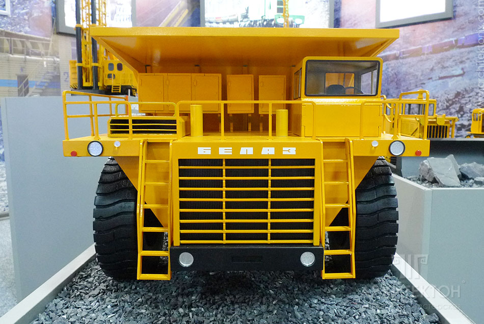 Model of BelAZ-7519 dumper, 3D printing