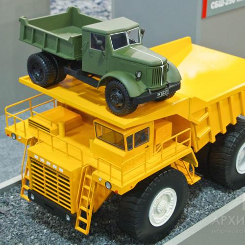 3D printing model of dumper
