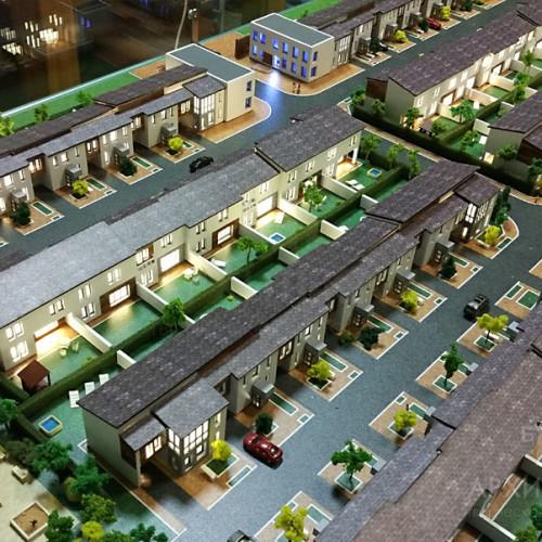 3D друк архітектурного макета котеджного селища