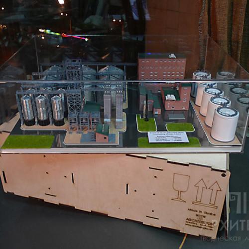 Послуга 3D друку макета заводу для віставкі