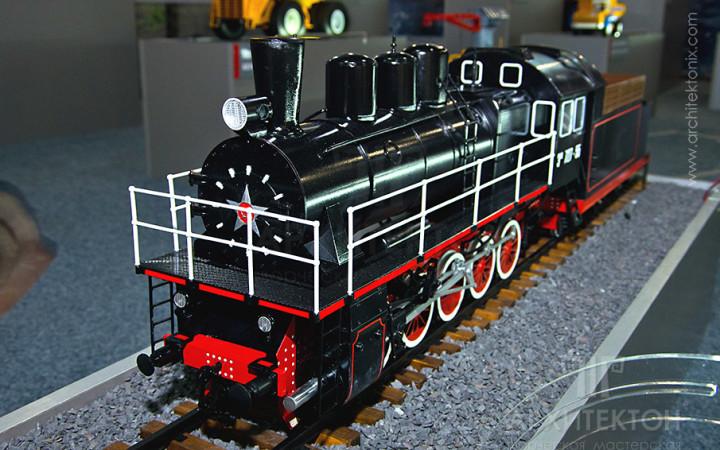 Виготовлення макету паровоза