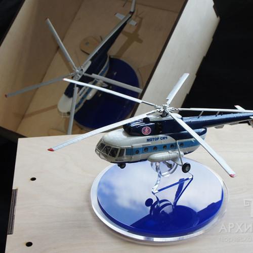 Подарункова модель вертольота Мі-8МСБ