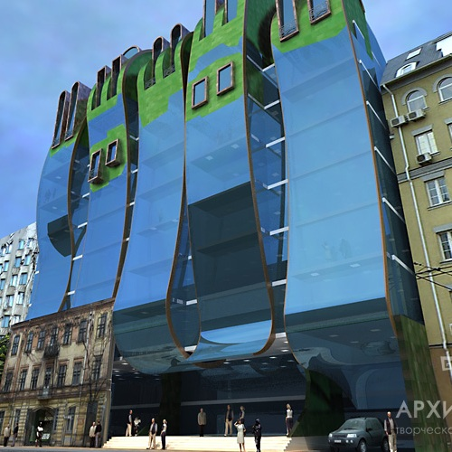 Architectural design of public buildings and residential complexes in Ukraine