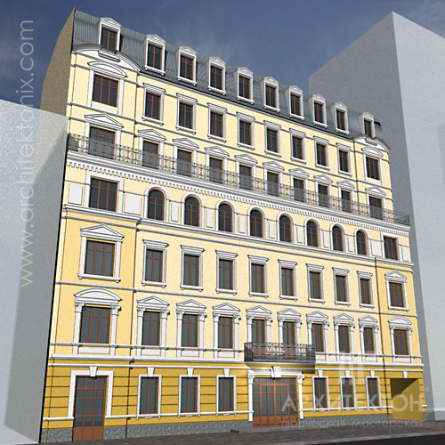 Designing an apartment house