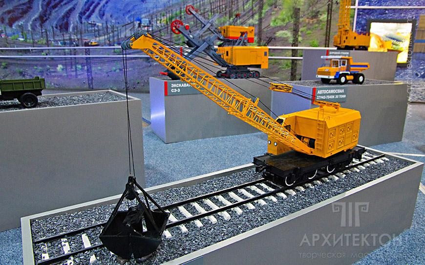 Масштабні моделі техніки для музею