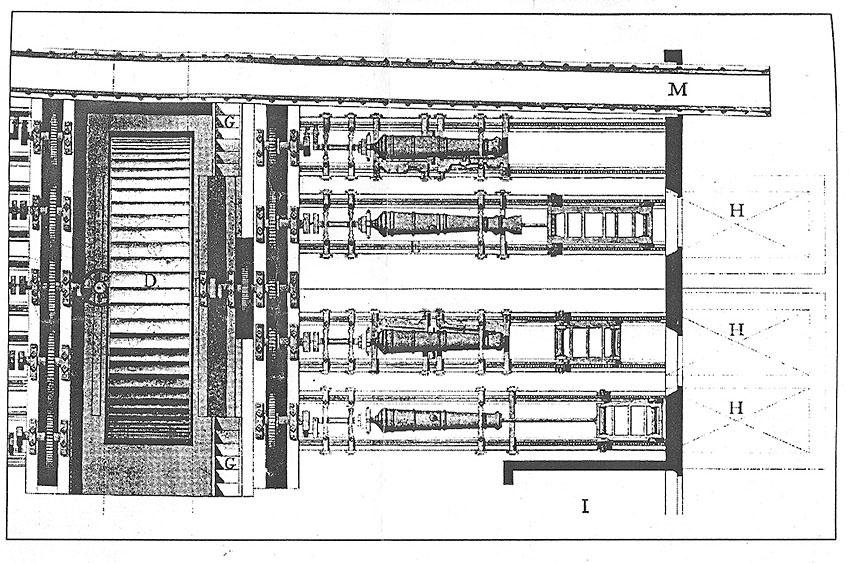 Гравюра XVIII века, как прообраз для изготовления макета