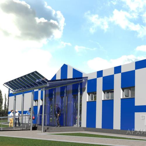 Візуалізація проекту адміністративного комплексу