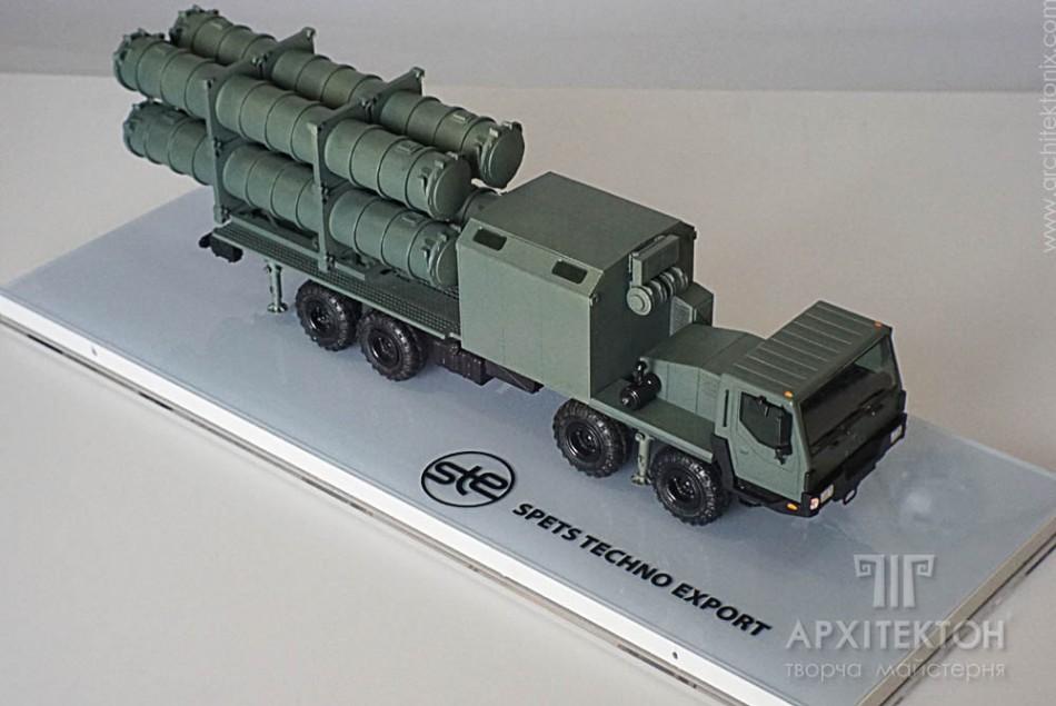 """3Д печать макета пусковой ракеты """"Нептун"""" на заказ, Киев"""