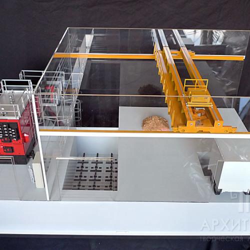 Макет котла Kriger для выставки на заказ