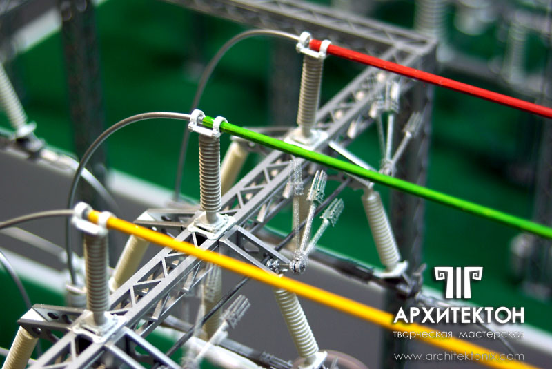 Making Model of substation 110 kV