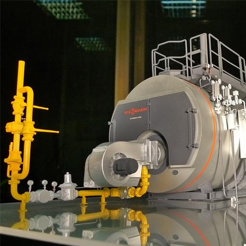 Макет котельной 3D печать на заказ в Киеве