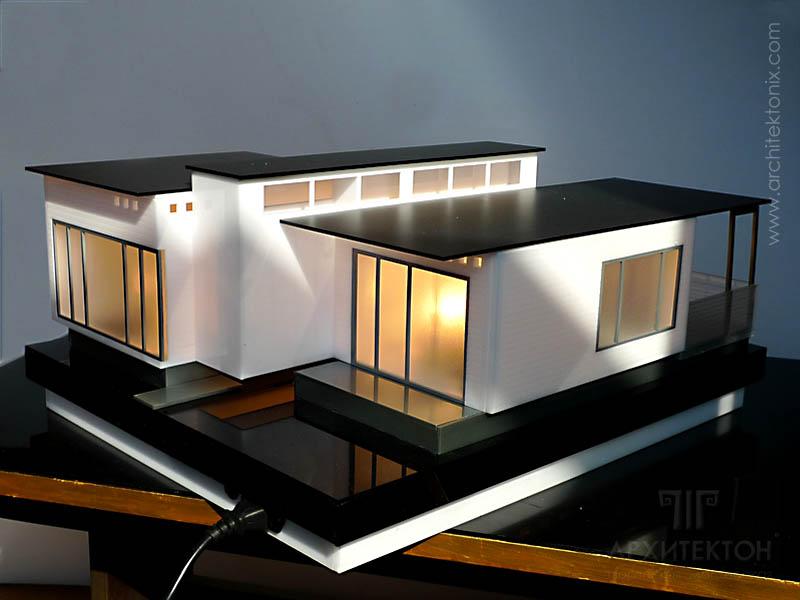 Изготовление макета дома для демонстрации инженерных систем