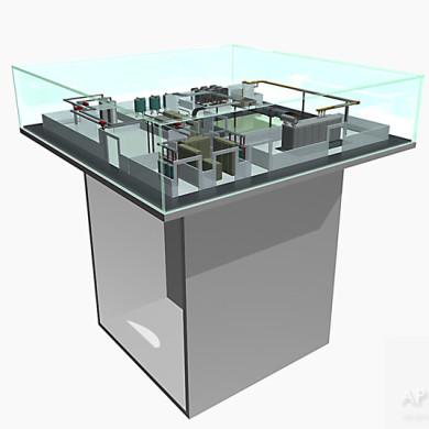 Предварительная визуализация макета систем электрических шинопроводов 3D графика