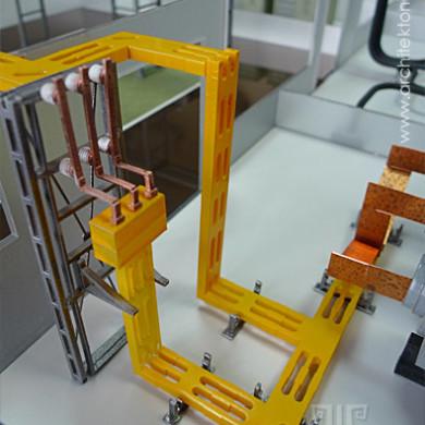 Изготовление макета систем электрических шинопроводов на заказ