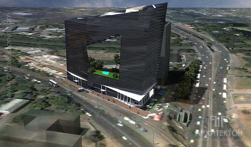 Проект бізнес центру