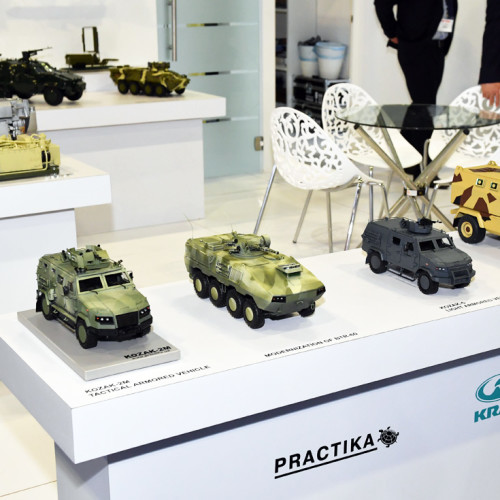 виготовлення моделей MRAP і бронеавтомобілів «КОЗАК» масштаб 1/20