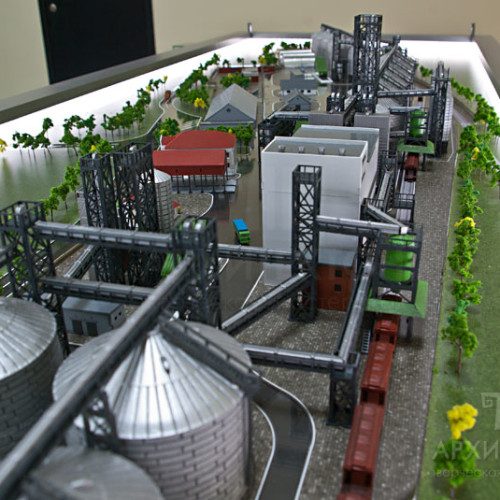 Exhibition model of of elevator