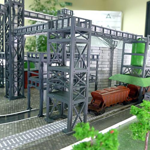 3D printing model of elevator