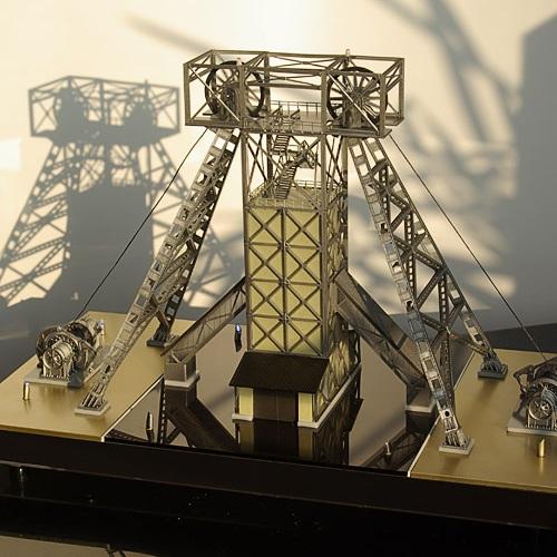 3Д печать макета шахты  на заказ