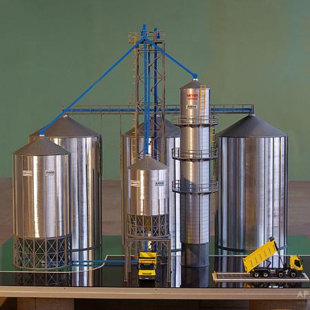 Изготовление элеватора производство конвейеров линий