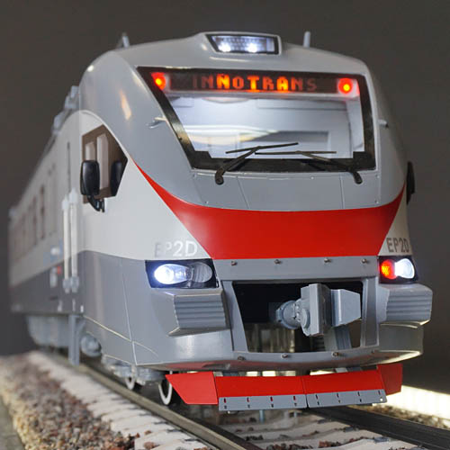 custom electric trains model, 3D printing