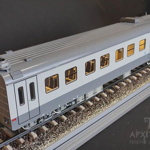 3D printing trains scale model, kiev