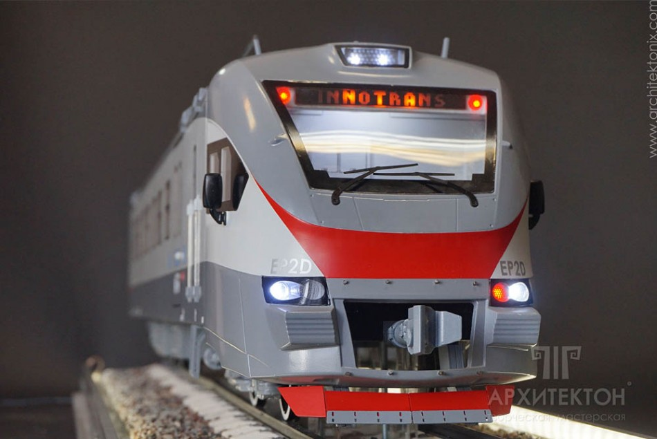 custom made Model of electric trains, kyiv