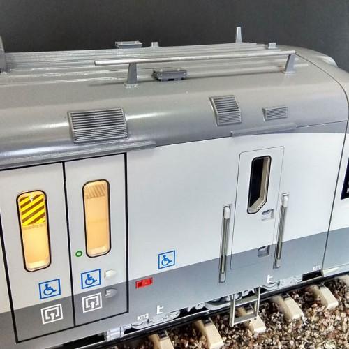 3D печать макета электрички, Киев