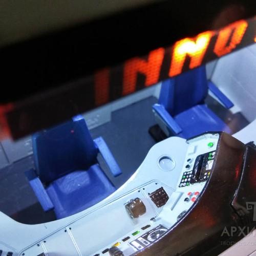 3D друк макета інтер'єру головного вагона електрички