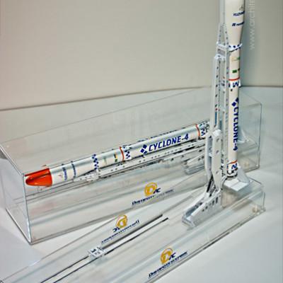 Масштабна модель ракети