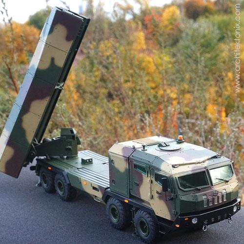 3Д макет пусковой установки системы Ольха, масштаб 1/35, Киев