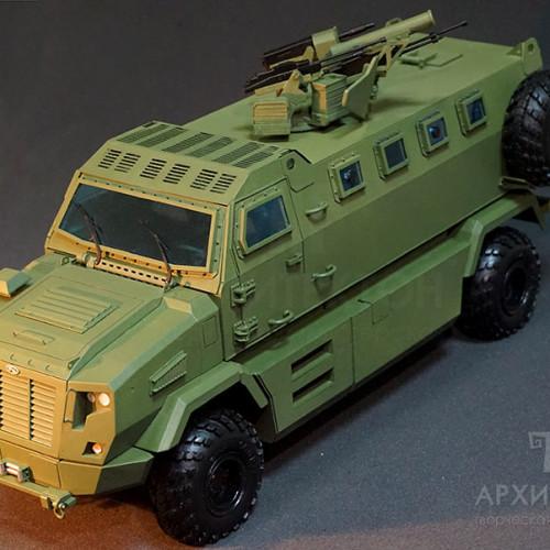 Виготовлення моделей військової техніки на замовлення