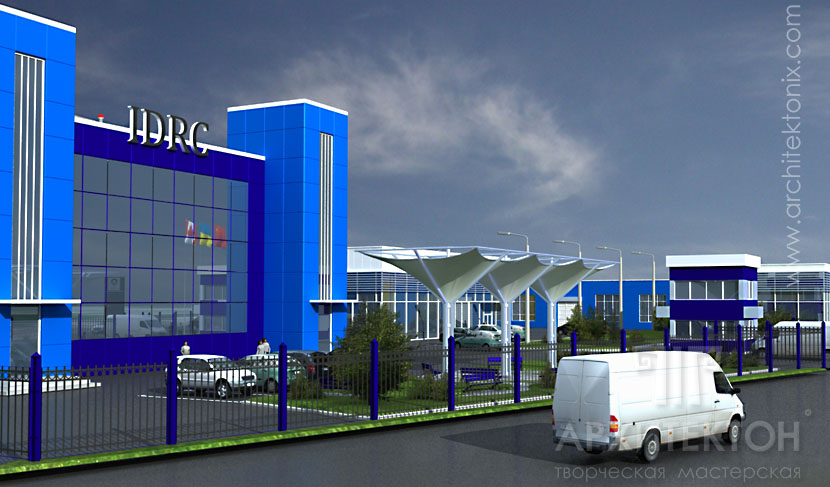 design of the production complex