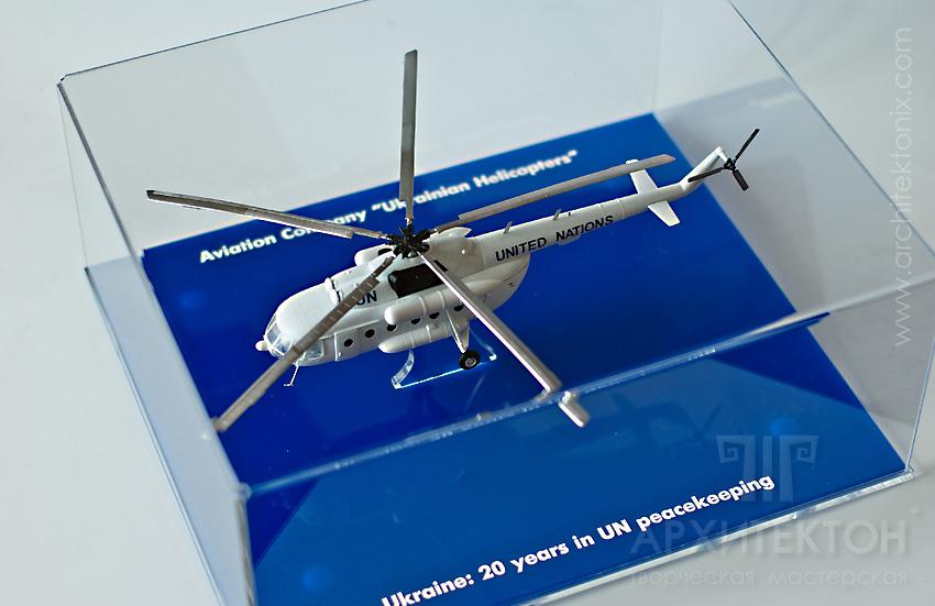 Масштабна модель вертольота Мі-8, масштаб 1:72