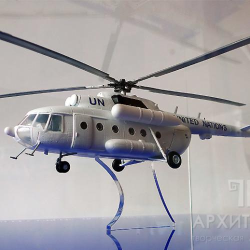 Сувенірна модель вертольота Мі-8