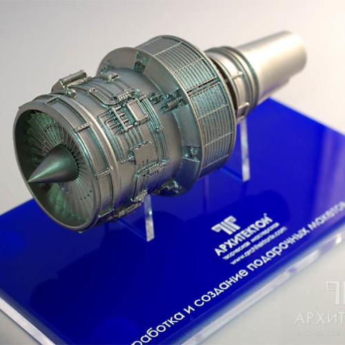 Тираж подарочных моделей двигателя Д-436-148