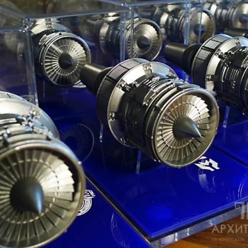 Изготовление тиража подарочных моделей двигателя Д-436