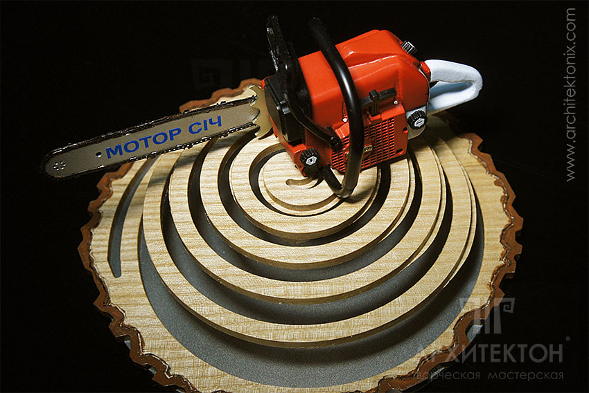 """Series model of chainsaw """"Motor Sich MS-475"""