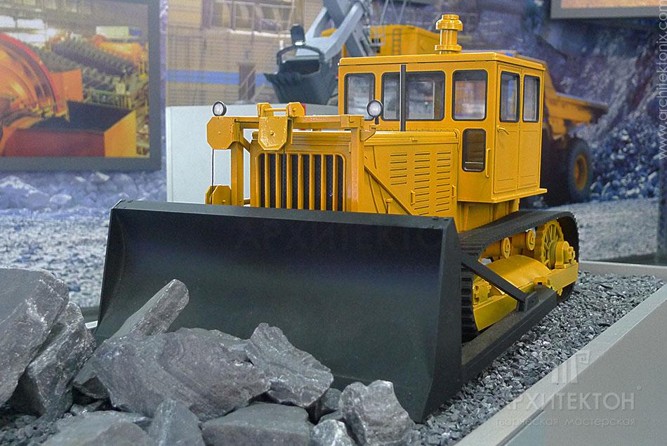 Модель трактора, 3D друк макета
