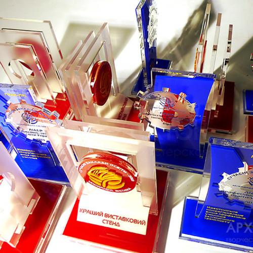 Изготовление современных наград на заказ