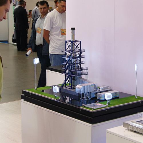 Макет ТЕК-6 на виставці